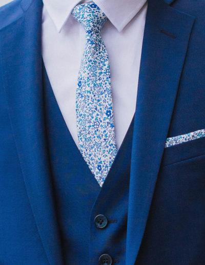 samson sur mesure été 2018 - 3- Costume 3 pièces, bleu profond - Eliot - 2