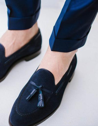 samson sur mesure été 2018 - 3- Costume 3 pièces, bleu profond - Eliot - 4