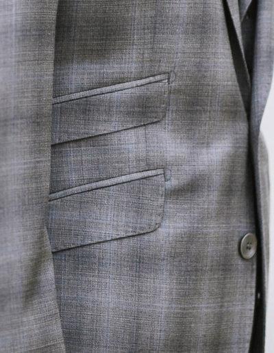 samson sur mesure été 2018 - 4- Costume 3 Pièces en Prince de Galles gris - Errol - 4