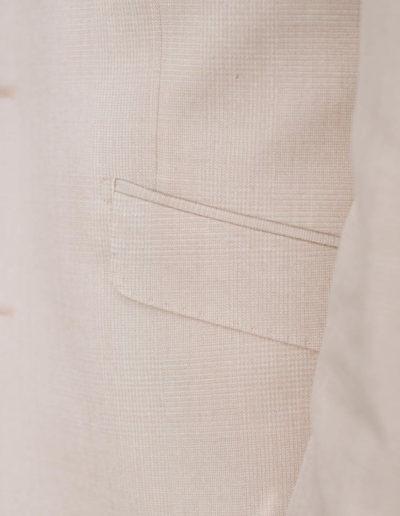 samson sur mesure été 2018 - 5 - Costume 3 Pièces en coton, soie et lin, beige - Ellis - 4