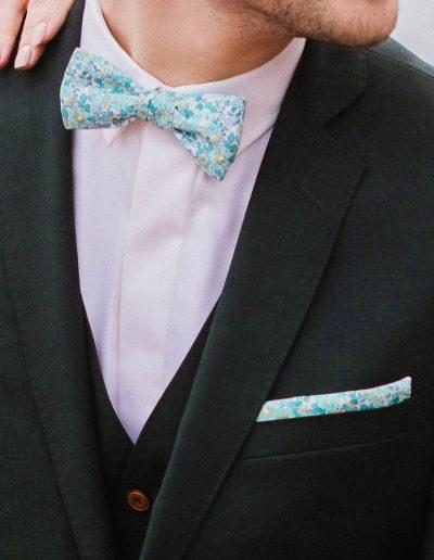 samson sur mesure mariage - Costume 3 pièces vert sapin - Trevise - 2