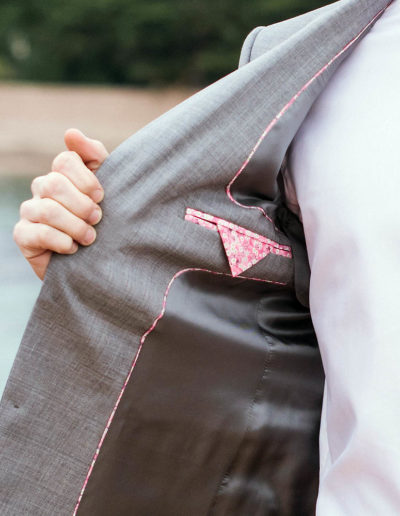 samson sur mesure mariage - Costume gris clair - Ferrare - 3