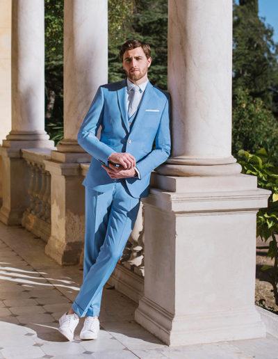 samson sur mesure été 2019 - 4 - Costume bleu ciel - Gustave - 1