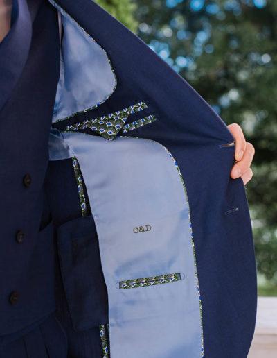 samson sur mesure été 2019 - 6 - Costume 3 pièces bleu- Gordon - 3