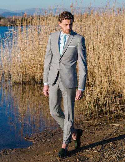 samson sur mesure été 2019 - 8 - Costume gris clair - Gaspard - 1