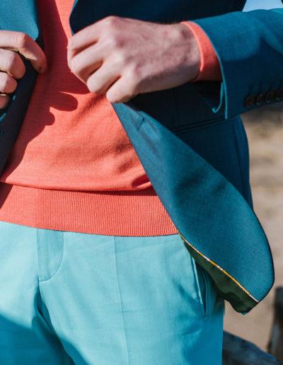 samson sur mesure été 2019 - 9- veste verte - Gwen - 2