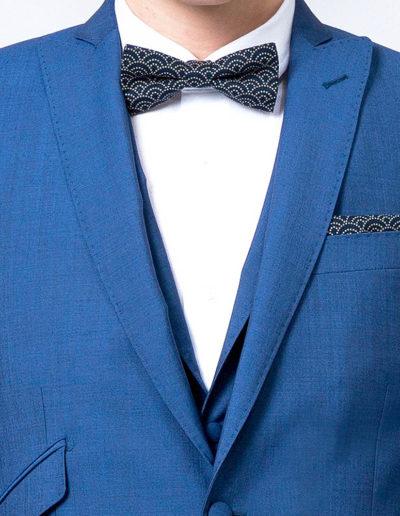 samson sur mesure - Mariage - Costume sur mesure 3 pièces bleu intense Véronne - 2