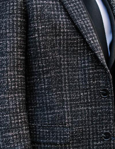 Samson sur mesure - hiver 2019-2020 -manteau tweed gris - Maxim - 4