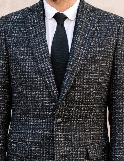 Samson sur mesure - hiver 2019-2020 -manteau tweed gris - Maxim - 5
