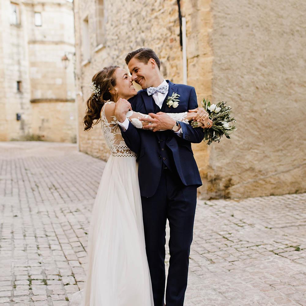 C & G - Photographe : Christelle Gilles / Robe de mariée : Margaux Tardits